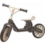 Balanca Bike loopfiets 10 Inch Junior Donkergrijs/Crème