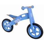houten loopfiets 12 Inch Meisjes Lichtblauw