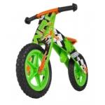 loopfiets Flip Green 12 Inch Junior Groen