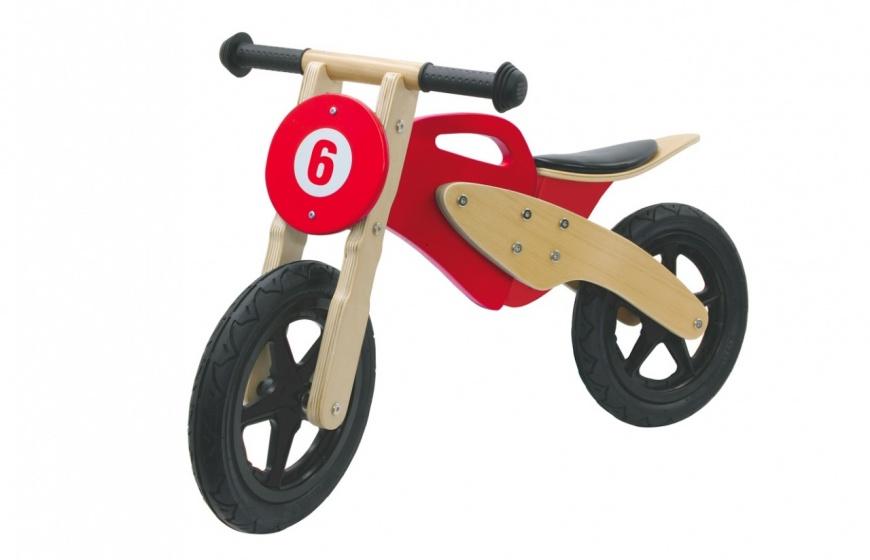 loopfiets motor 89 x 40 x 51 cm Junior Rood